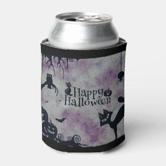 Happy Halloween Can Cooler