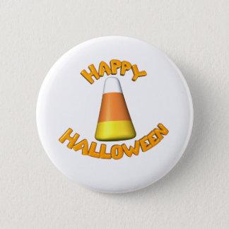 Happy Halloween Candy Corn 6 Cm Round Badge