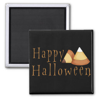 Happy Halloween Candy Corn Magnet