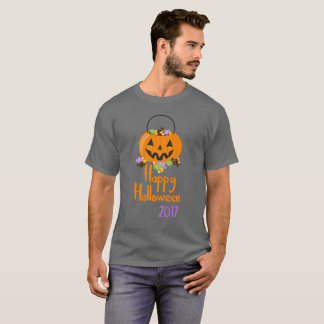 Happy Halloween Candy Pail 2017 T-Shirt