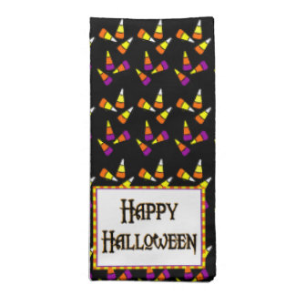 Happy Halloween Candy Pattern Napkins
