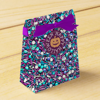 Happy Halloween Candy Sprinkles Party Favor Bags Favour Box