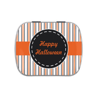 Happy Halloween Candy Tin