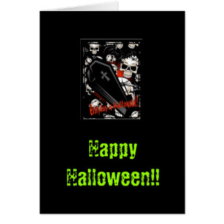 Happy Halloween!! Greeting Cards