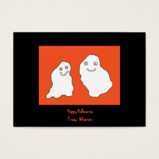 Happy Halloween cards ghosts