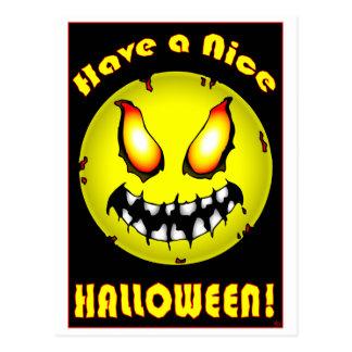 HAPPY Halloween cards Postcard
