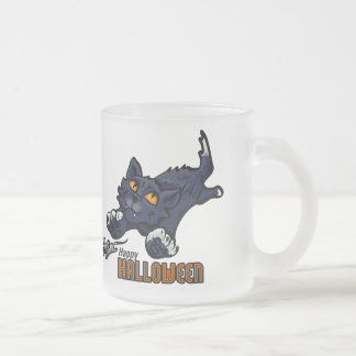 Happy Halloween Cat and Mouse Coffee Mug