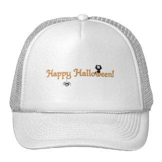 Happy Halloween-Cat and Spider Cap