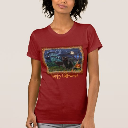 Happy Halloween Cats T-Shirt