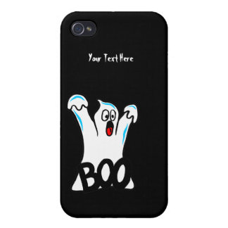 Happy Halloween – Caution, Beware of Ghost! Cover For iPhone 4