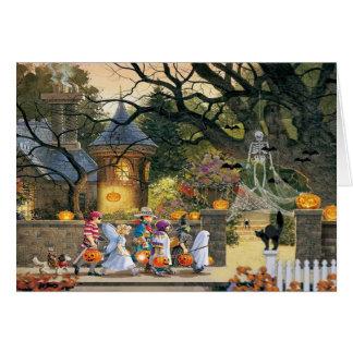 Happy Halloween Children Card