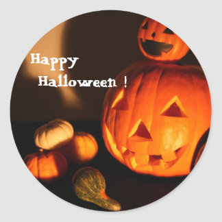 Happy Halloween! Classic Round Sticker