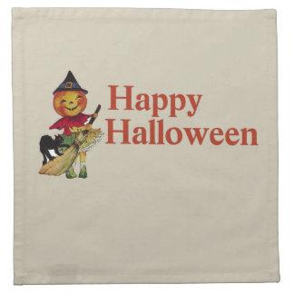 Happy Halloween Cloth Napkins