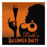 Happy Halloween Cocktail Party Custom Invites
