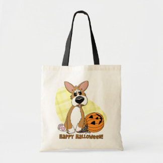 Happy Halloween Corgi Bag