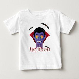 Happy Halloween Count Dracula Illustration Baby T-Shirt