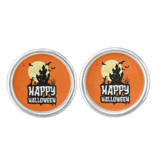 Happy Halloween Cuff Links