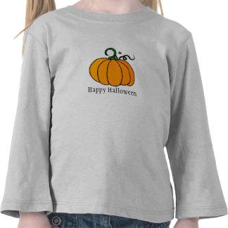 Happy Halloween Cute Pumpkin Tshirt