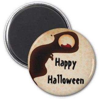 Happy Halloween dark creature magnet