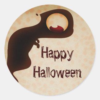 Happy Halloween dark creature sticker