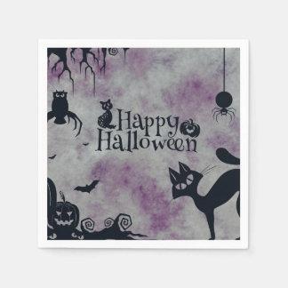 Happy Halloween Disposable Napkins