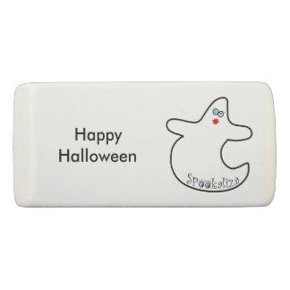 Happy Halloween Diva Ghost Party Favor Eraser