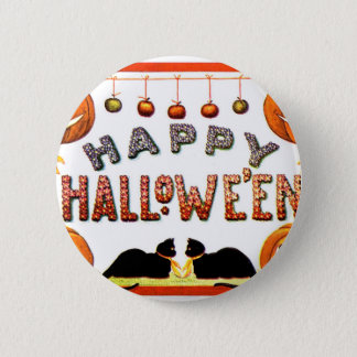 Happy Halloween - Ellen Clapsaddle 6 Cm Round Badge