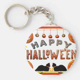 Happy Halloween - Ellen Clapsaddle Key Ring