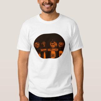 Happy Halloween Evil Pumpkins T-shirt