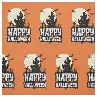 Happy Halloween Fabric