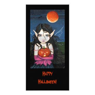Happy Halloween Fairy Photo Card