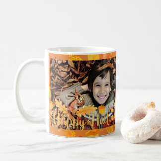 Happy Halloween Fall Photo Mug