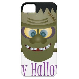 Happy Halloween Frankenstein Monster Illustration iPhone 5 Cases