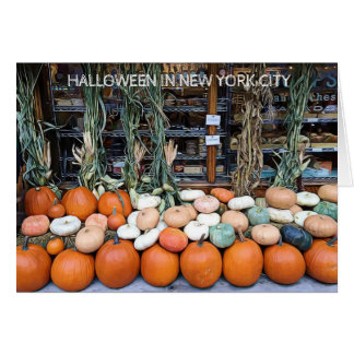 Happy Halloween from NYC Greeting Card