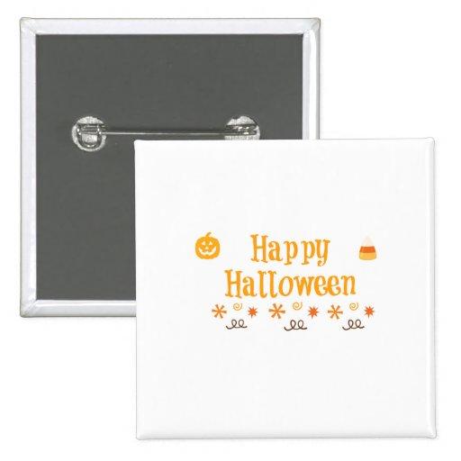 Happy Halloween Fun Button