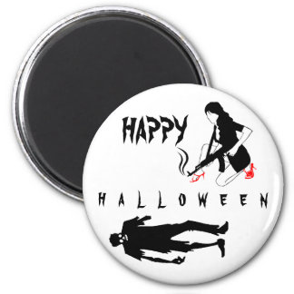 Happy Halloween Funny chic and unique custom Magnet