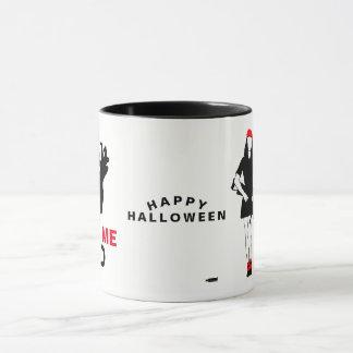 Happy Halloween Funny Horror customizable Mug