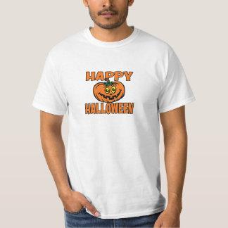 Happy Halloween Funny Pumpkin Costume Value Tshirt