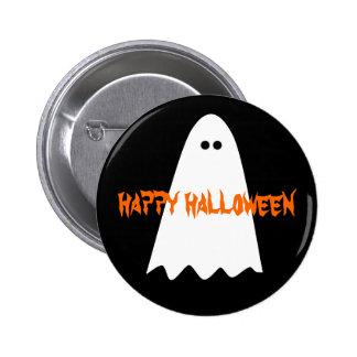 Happy Halloween ghost 6 Cm Round Badge