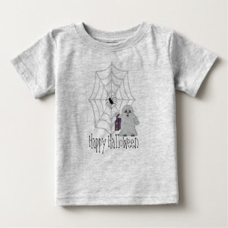 Happy Halloween Ghost and Spider Shirt