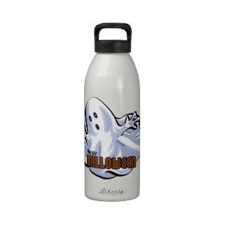 Happy Halloween Ghost Cartoon Drinking Bottles