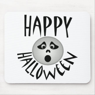Happy Halloween Ghost Mouse Pad