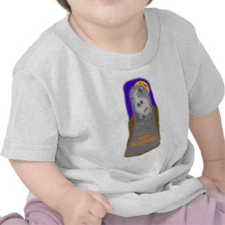 happy halloween ghost tee shirts