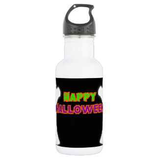 Happy Halloween Ghosts 532 Ml Water Bottle