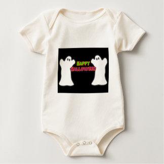 Happy Halloween Ghosts Baby Bodysuit