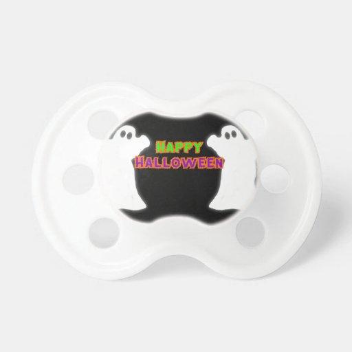 Happy Halloween Ghosts Pacifier