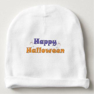 Happy Halloween Ghosts Baby Beanie
