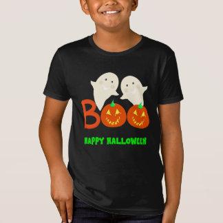 Happy Halloween Ghosts Jack O'lantern Pumpkins BOO T-Shirt