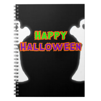 Happy Halloween Ghosts Note Books