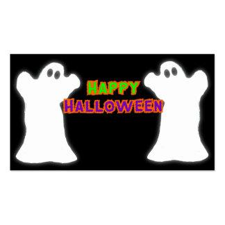 Happy Halloween Ghosts Pack Of Standard Business Cards
